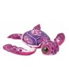 Kinderknuffel schildpad roze 39 cm