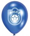 Politie thema ballonnen