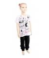 Pyjama Snoopy zwart met wit