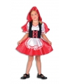 Roodkapje outfit voor meiden
