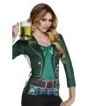 Carnavalskostuum St. Patricks day dames shirt