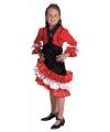 Rood flamengo jurkje voor meiden
