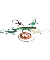 Speelgoed set plastic reptielen 6 stuks