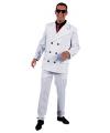 Wit gangster outfit voor heren