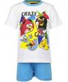 Witte Angry Birds pyjama kort