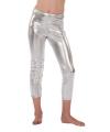 Legging in het zilver voor meisjes