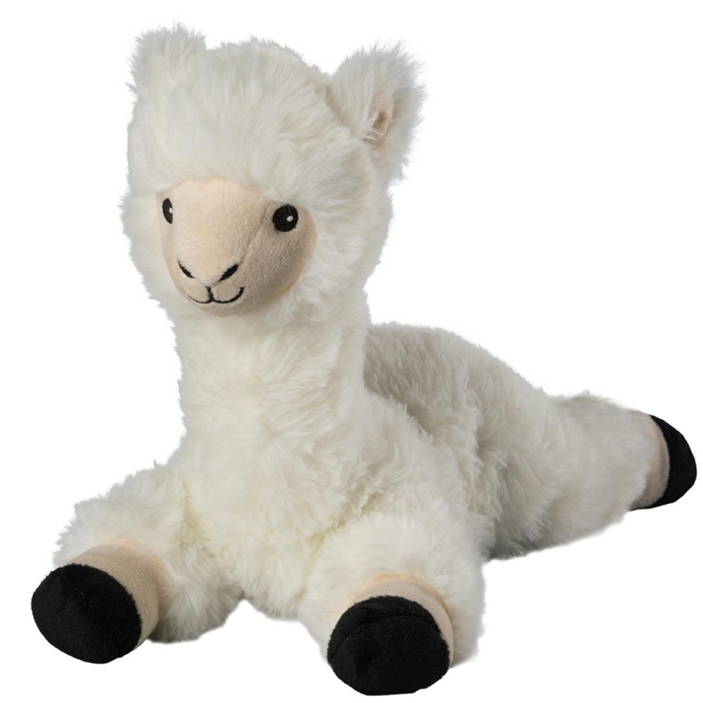 Alpaca speelgoed artikelen opwarmbare lama/alpaca knuffelbeest 37 cm