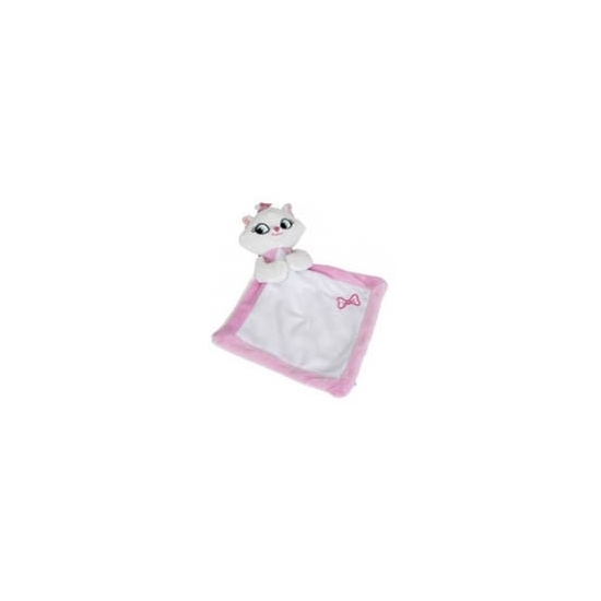 Afbeelding: Baby kado Disney knuffeldoekje poes Marie 25 cm