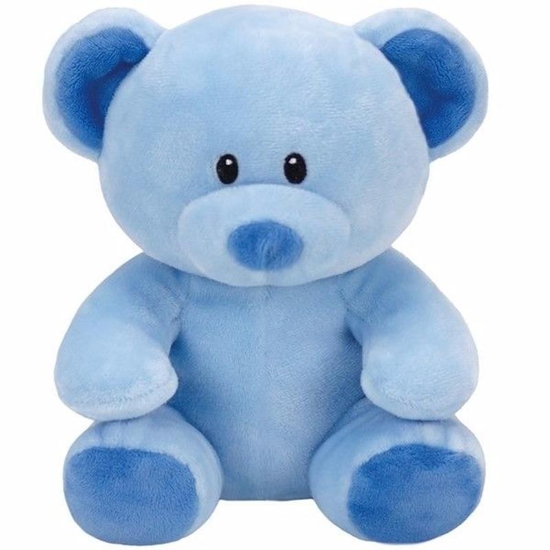 Babyshower jongetje knuffeldier Ty Baby beertje Lullaby 24 cm