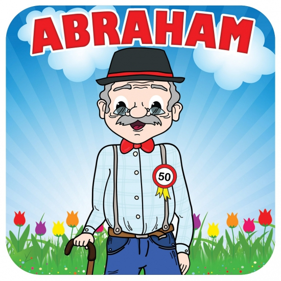 Spiksplinternieuw Bierviltjes Abraham 50 jaar bestellen voor € 3.99 bij het SN-38