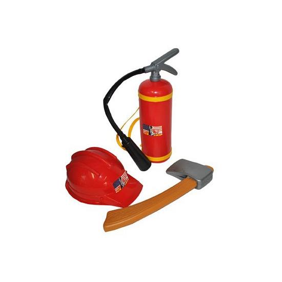 Brandweer man speelgoed Geen
