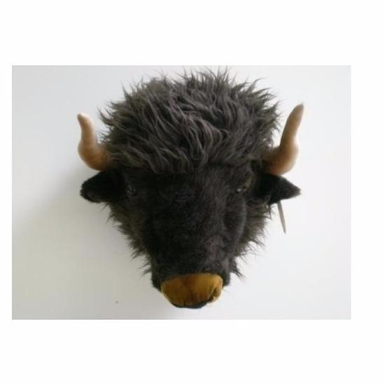 Buffelkop voor aan de muur
