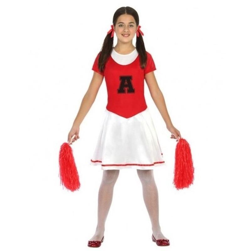 d828981da80abb Cheerleader jurk jurkje verkleed kostuum voor meisjes bestellen voor ...