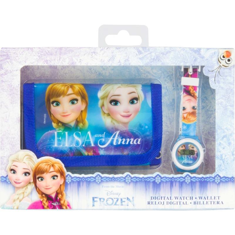 Disney Frozen horloge en portemonnee set bestellen voor