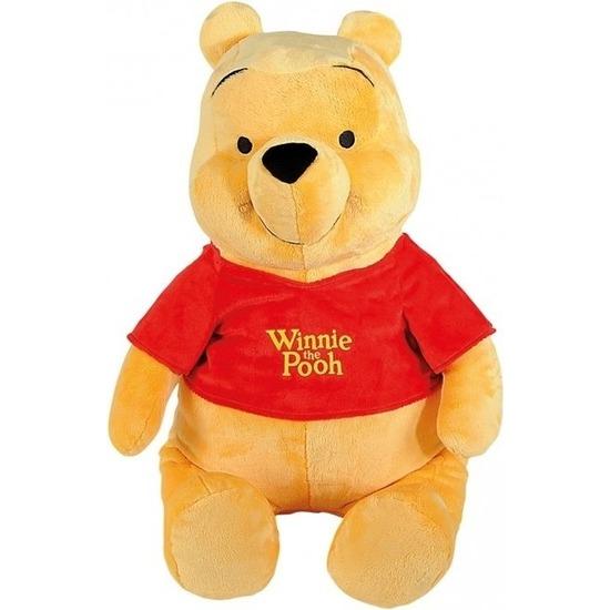 Disney speelgoed artikelen beren knuffelbeest Winnie de Poeh 80 cm