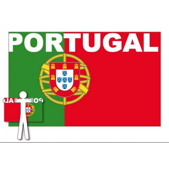 Fans cape vlag Portugal
