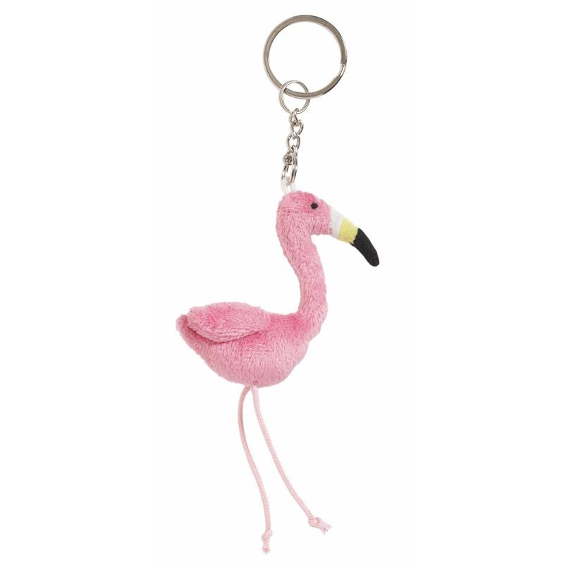 Flamingo sleutelhangers 6 cm
