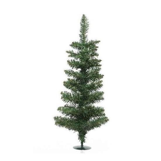 Groene kunst kerstboom 60 cm met voet