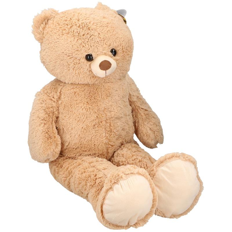 Grote pluche beer/beren knuffel 100cm