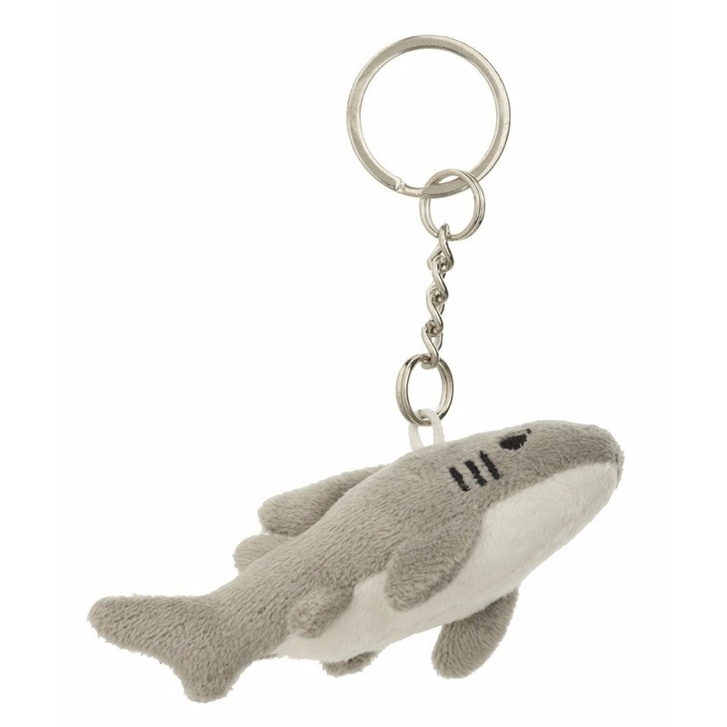 Haaien sleutelhangers 6 cm