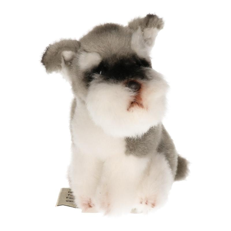 Hondenknuffel Schnauzer 13 cm