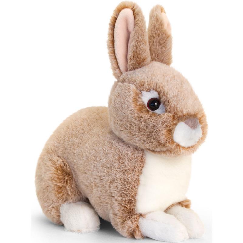 Keel Toys pluche beige konijnen knuffel 20 cm