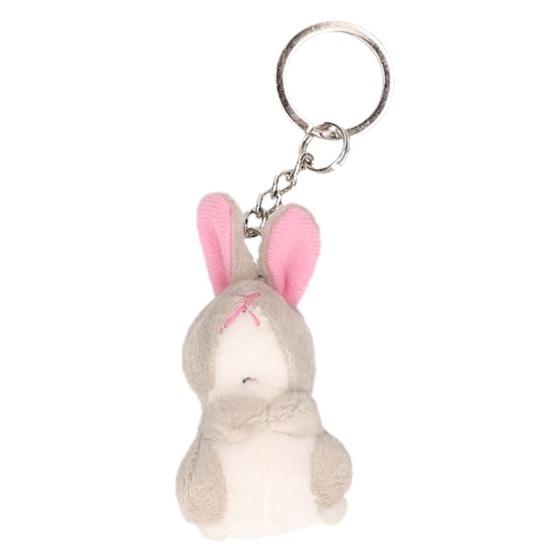 Knaagdieren sleutelhangers konijnen/hazen pluche