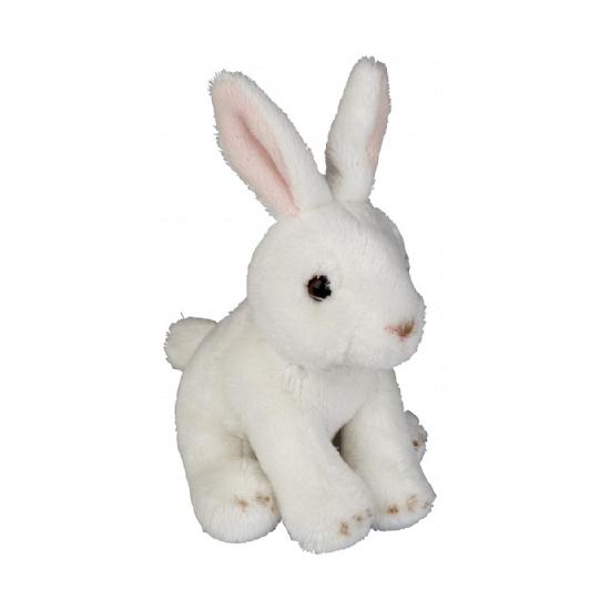 Knuffel konijnen wit 15 cm