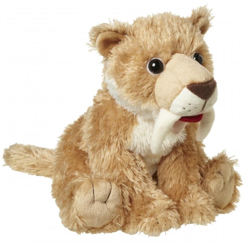 Knuffel Sabeltand tijger 24 cm