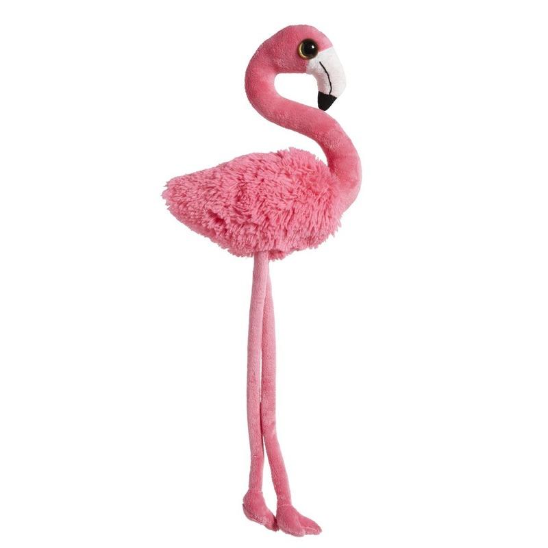 Knuffelvogel flamingo 65 cm