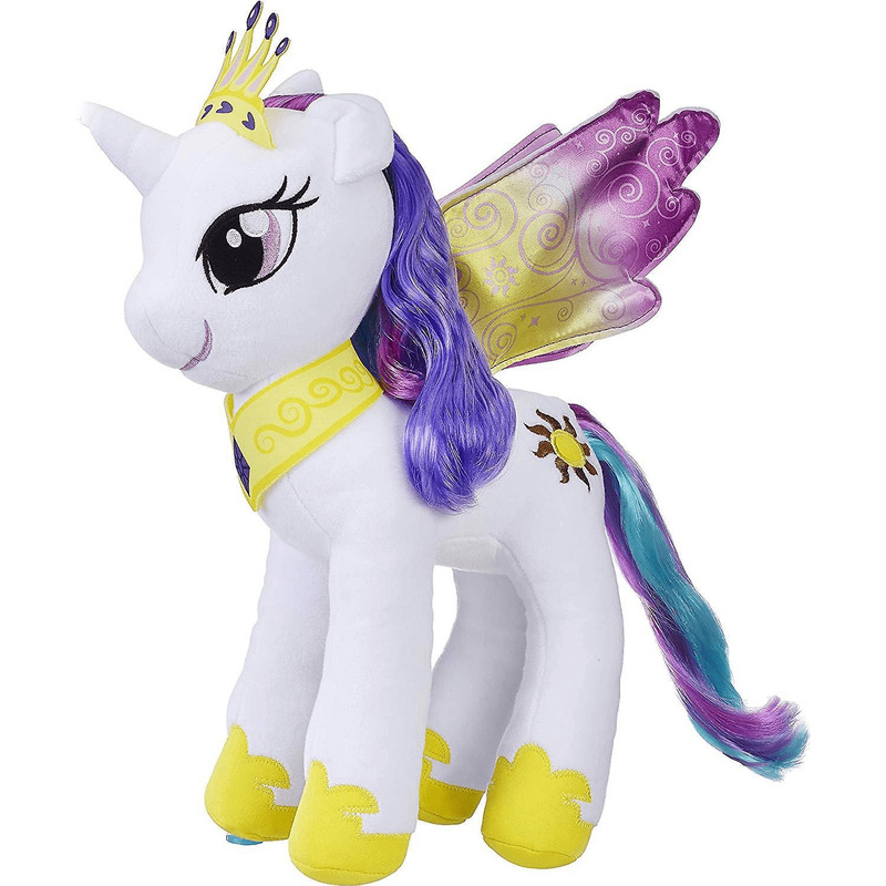 My Little Pony speelgoed artikelen pony/paard knuffelbeest Celestia 35 cm