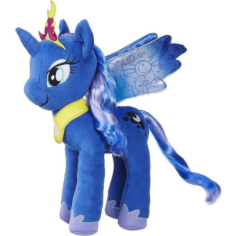 My Little Pony speelgoed artikelen pony/paard knuffelbeest Luna 35 cm