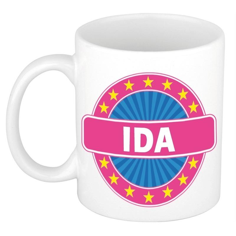 Namen koffiemok / theebeker Ida 300 ml