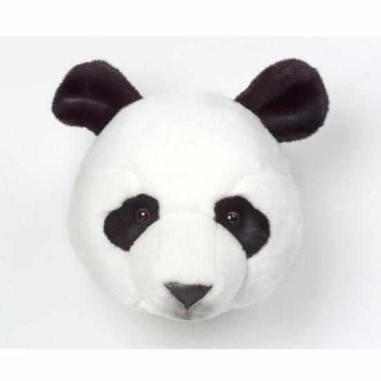 Panda pluche kop