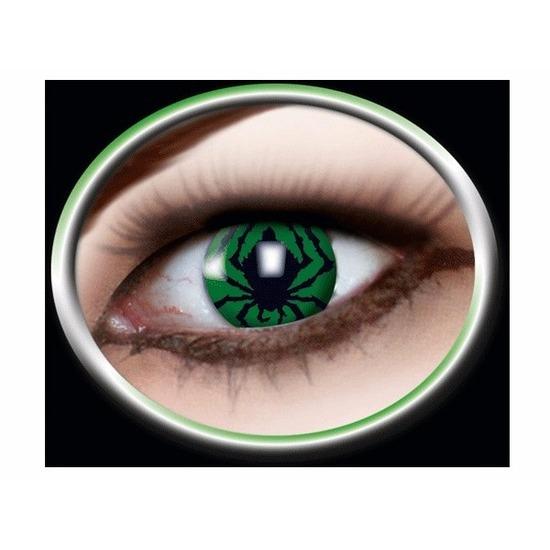 Kleurlenzen Bestellen.Groene Spin Kleurlenzen Bestellen Voor 14 95 Bij Het