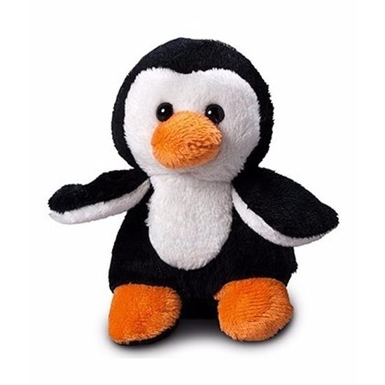 Pinguin knuffel kado 12 cm met ruimte voor tekst