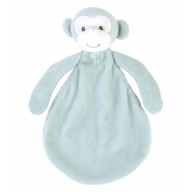Pluche apen knuffeldoekje Marlo 26 cm