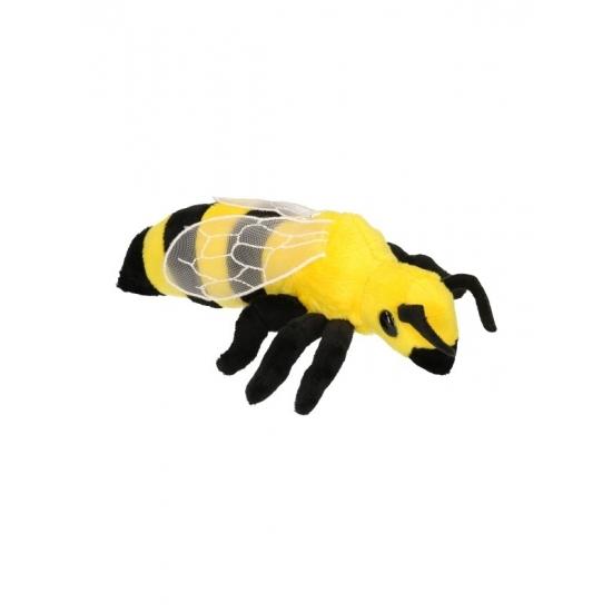 Pluche insecten wesp 20 cm