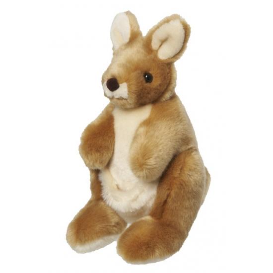 Pluche kangoeroe knuffeldieren 26 cm