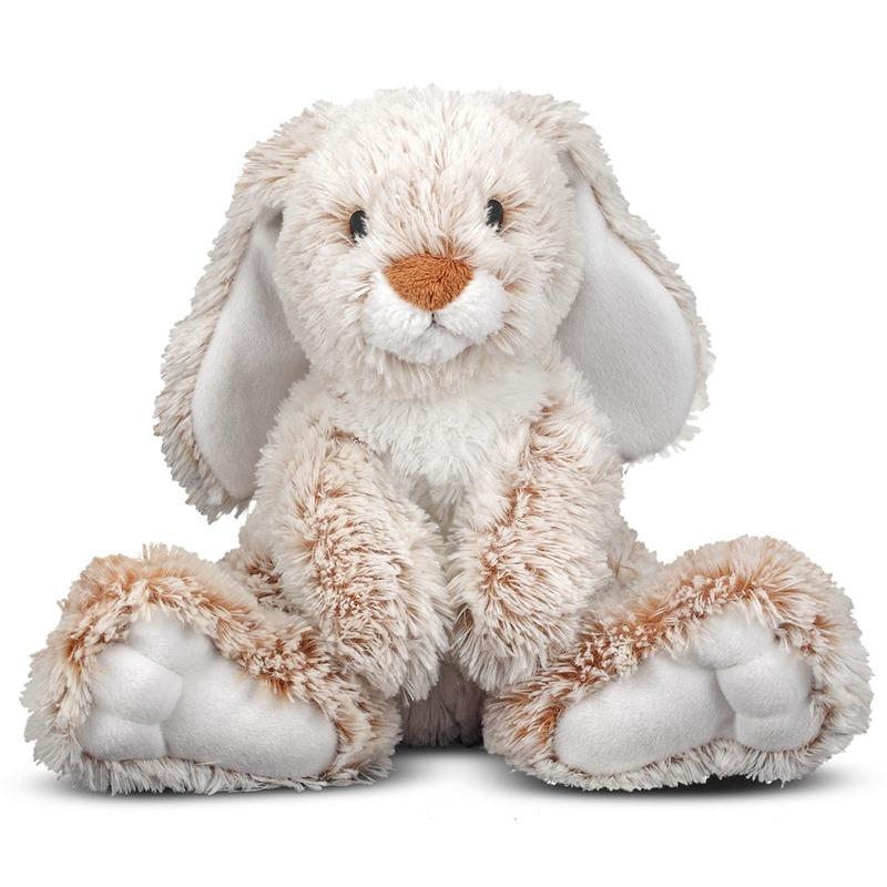 Pluche konijn/haas knuffel 25 cm speelgoed