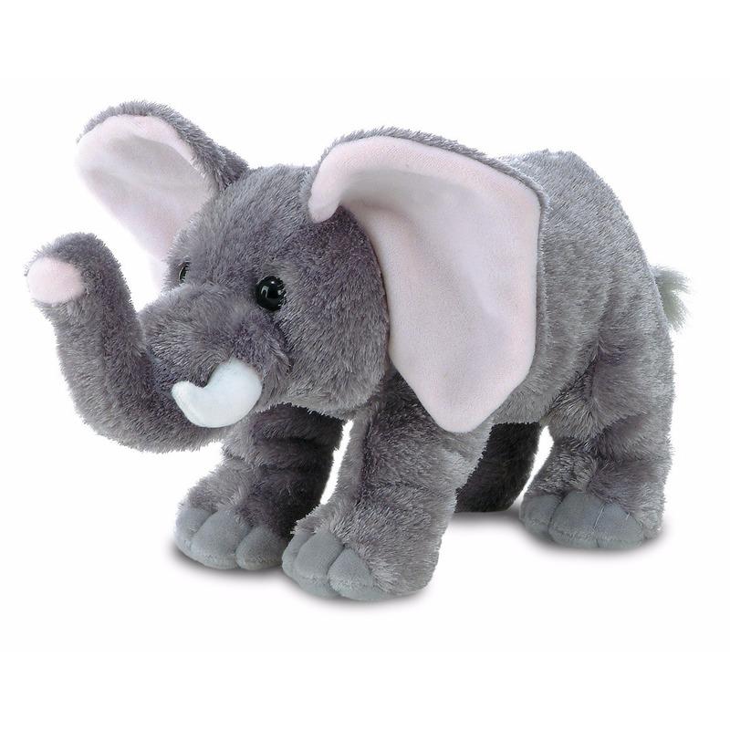 Pluche olifanten knuffel 30 cm