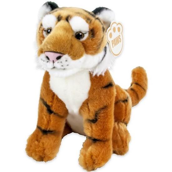 Pluche tijger knuffel 25 cm
