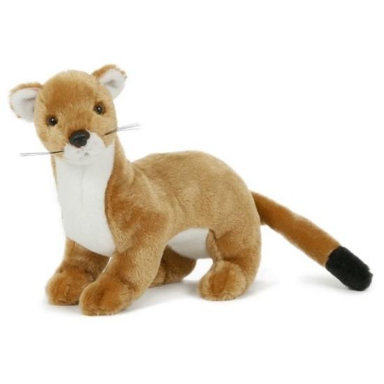 Pluche wezel knuffel 23 cm speelgoed