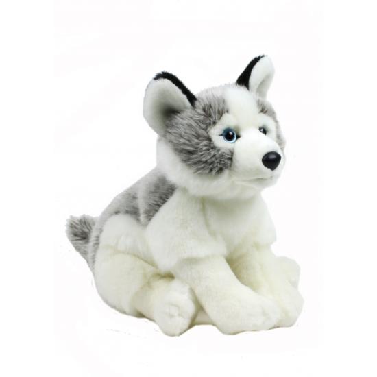 Pluche WNF knuffel Husky hond 38 cm