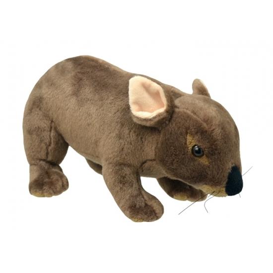 Pluche wombat knuffel 25 cm