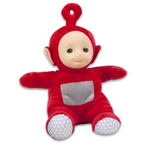 Rode Teletubbies Po speelgoed knuffel/pop 26 cm