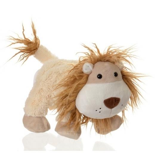 Speel handpop leeuwtje 24 cm