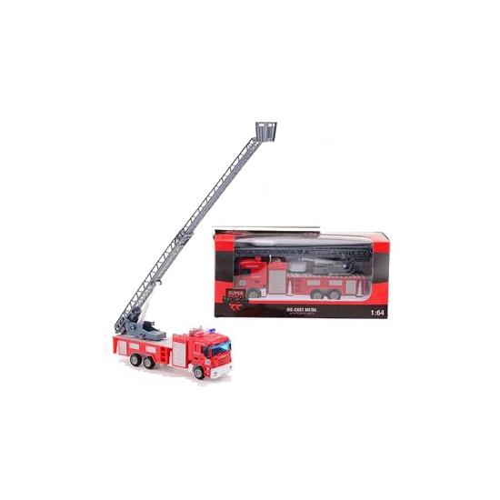 Speelgoed brandweer ladderwagen Geen