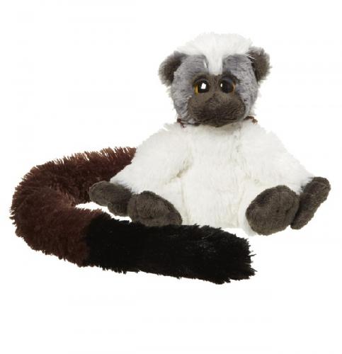 Speelgoed pluche knuffel dwergaap 16 cm