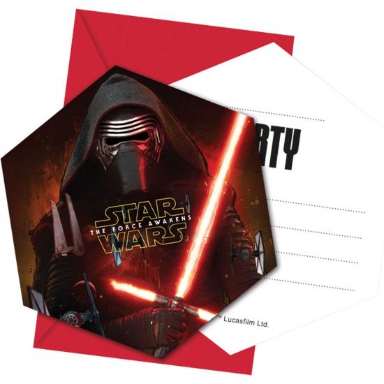 Star Wars partijtje uitnodigingen